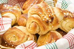 Cinnamon buns Royalty Free Stock Images