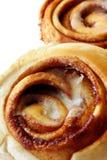 Cinnamon Buns. Sweet, sticky cinnamon buns, ready for your enjoyment Royalty Free Stock Photo
