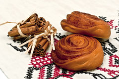 Cinnamon-buns Stock Photos