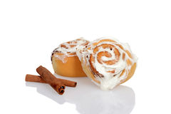 Cinnamon buns Royalty Free Stock Images