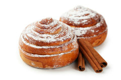 Cinnamon buns Royalty Free Stock Photo