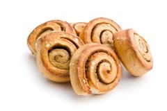 Cinnamon buns Royalty Free Stock Photography