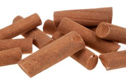 Cinnamon candy sticks Royalty Free Stock Photo