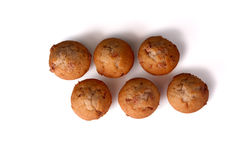 Cinnamon Chip Muffins Royalty Free Stock Images