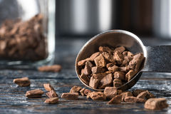 Cinnamon chips Stock Photo