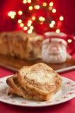 Cinnamon Christmas Cake Stock Photography