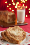 Cinnamon Christmas Cake Royalty Free Stock Photography