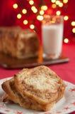 Cinnamon Christmas Cake Royalty Free Stock Photography