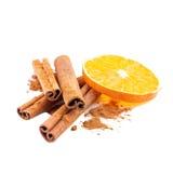 Cinnamon Christmas spice Royalty Free Stock Image