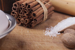 Cinnamon Close-up Royalty Free Stock Photo
