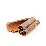 Cinnamon closeup Royalty Free Stock Photography