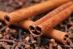 Cinnamon and clove Stock Photo