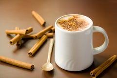 Cinnamon coffee Royalty Free Stock Photos