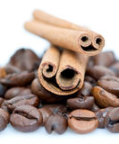 Cinnamon And Coffee Stock Photos