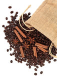 Cinnamon Coffee Stock Images