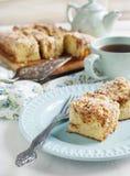 Cinnamon coffee cake Royalty Free Stock Photo