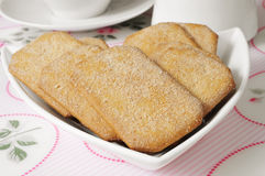 Cinnamon cookies Stock Photos