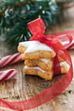 Cinnamon cookies for christmas Royalty Free Stock Images