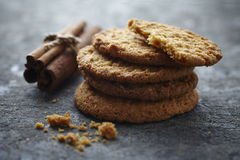 Cinnamon cookies Royalty Free Stock Images