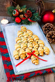 Cinnamon crescents Royalty Free Stock Photography