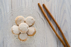 Cinnamon Cupcakes Stock Photography