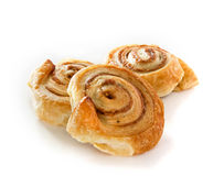 Cinnamon danish bun Stock Image