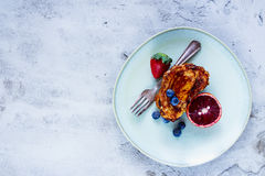 Cinnamon French Toasts Royalty Free Stock Images