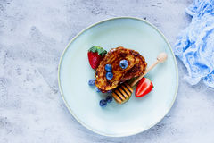 Cinnamon French Toasts Royalty Free Stock Image