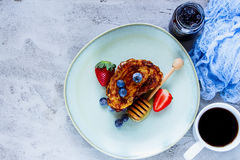 Cinnamon French Toasts Stock Photography