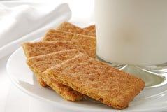 Cinnamon graham crackers Stock Photos