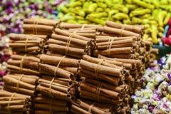 Cinnamon at Grand Bazaar in Istanbul royalty free stock images