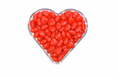 Cinnamon  hearts Stock Photo