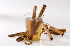 Cinnamon Herbal Tea Royalty Free Stock Image