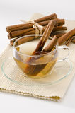 Cinnamon Herbal Tea Stock Image
