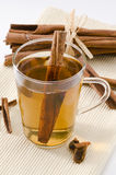 Cinnamon Herbal Tea Royalty Free Stock Photos