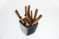 Cinnamon isolated Stock Photography