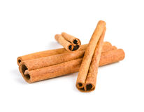 Cinnamon isolated Royalty Free Stock Photo