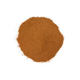 Cinnamon. Isolated on white background Stock Image