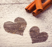 Cinnamon love Stock Photos