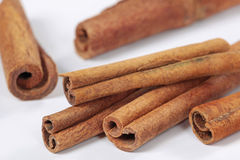 Cinnamon macro Stock Photo