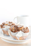 Cinnamon muffin Stock Photo
