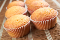 Cinnamon Muffins Royalty Free Stock Photography