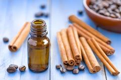 Cinnamon oil stock images