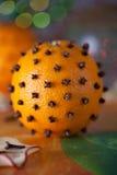 Cinnamon orange Royalty Free Stock Image