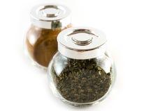 Cinnamon and oregano Stock Image