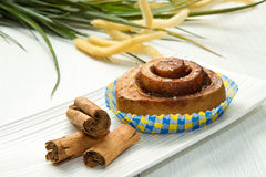 Cinnamon pastry Royalty Free Stock Image