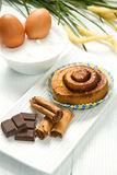 Cinnamon pastry Stock Photography