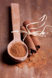 Cinnamon pile Royalty Free Stock Photography