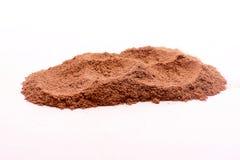 Cinnamon powder. Image of cinnamon powder on a white background royalty free stock photos