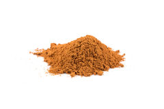 Cinnamon powder. Cinnamon  powder isolated on a white background Stock Images